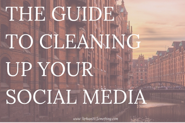 We can't control the power of social media. What we can control is how we use that power. We can choose to make everything private and try to avoid social media, or we can use it our advantage. This is the ultimate guide to cleaning up your social media profiles and making them work in your favor. Click through for the step by step guide to cleaning up your profiles, with checklist included!
