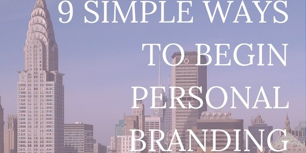Personal branding is more important (but more fun!) than ever. You don't have to be an entrepreneur or CEO to work on branding. This is a simple investment in your future. Click through for simple ways to begin marking yourself today.