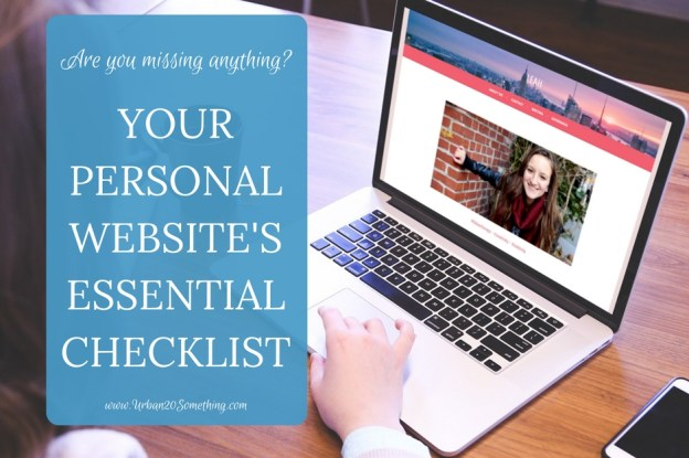 Make sure your personal website has all it needs to be working for you full time! This is how I landed my dream job and how you can, too.