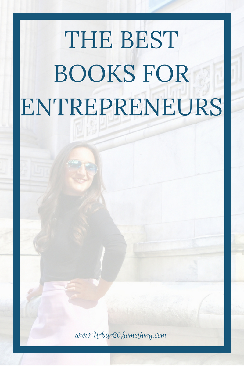 Books have played a huge role in my entrepreneurial success and mindset. Click through for my top five entrepreneurship books.