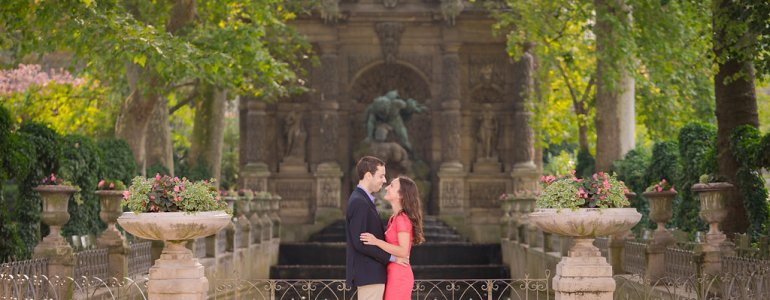 I said yes to my best friend in the Luxembourg Gardens in Paris. Click through to read our proposal story!