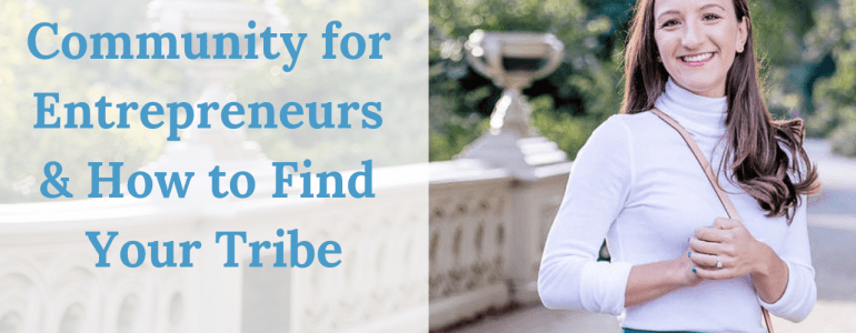 An entrepreneurial community has been hugely influential in my success and growth. Click through to read how I found one and how you can too.