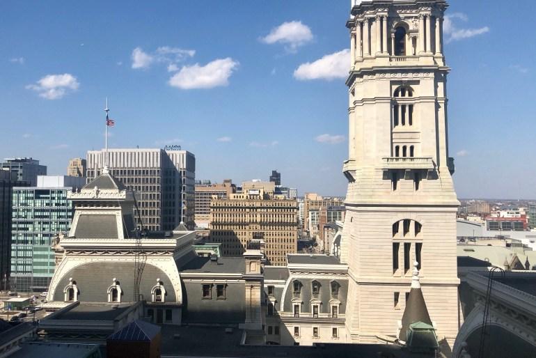 Beautiful view of Philadelphia at the Ritz-Carlton, Philadelphia