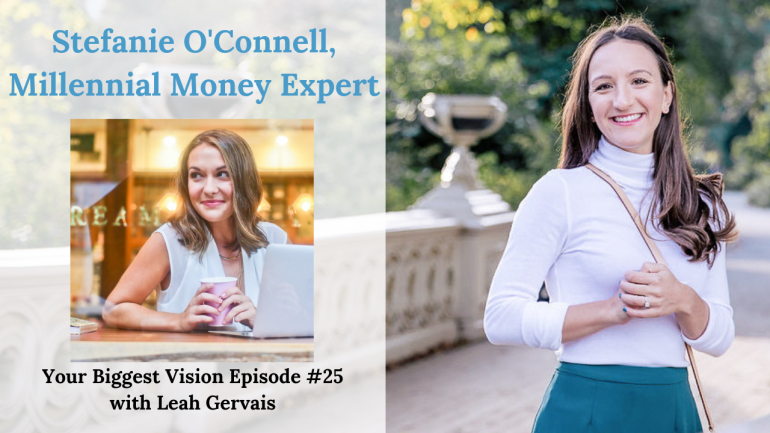 Stefanie O'Connell is a millennial money expert for women. Here's her journey out of the struggling artist persona and into entrepreneurship and personal finance expert.
