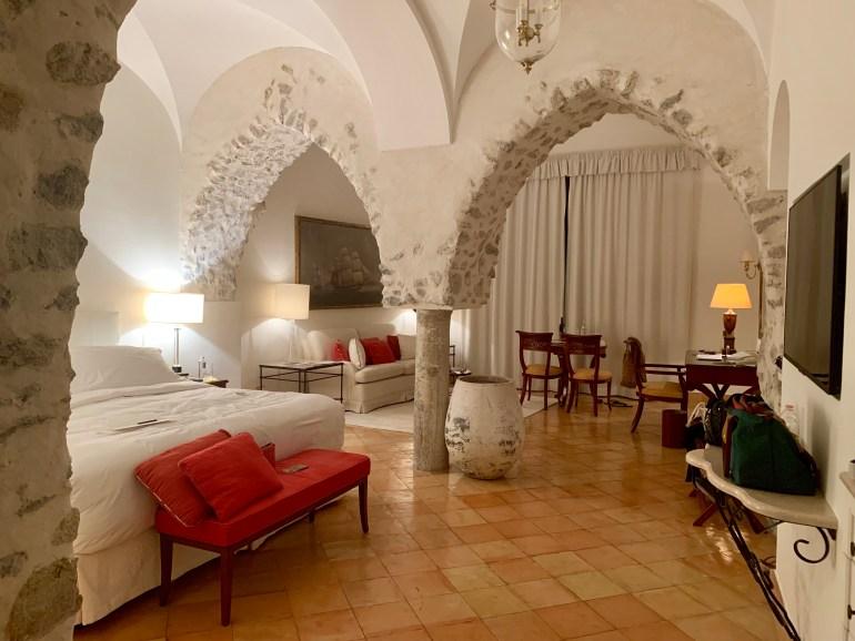 Suite- Belmond Hotel Caruso