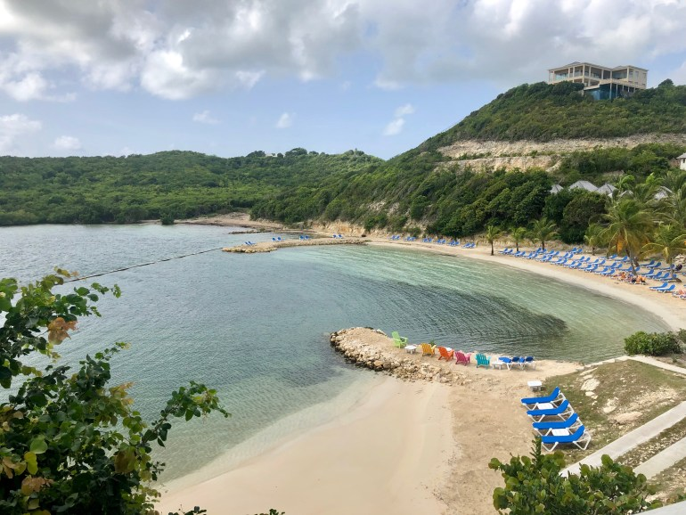 Beach at Nonsuch Bay Resort in Antigua