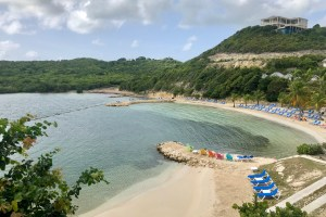 Beach at Nonsuch Bay Resort in Antigua
