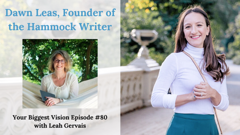 Tune in to episode 80 to hear Dawn Leas, founder of the Hammock Writer, to hear how you can indeed make money off your creativity!