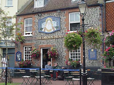 The Druids Head, 9 Brighton Place, Brighton, East Sussex