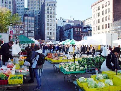 NYC Union Square Farmers' Market
