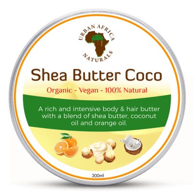 urban africa naturals-shea-butter-coco-droge-huid-body-butter-kokos-olie-shea-boter