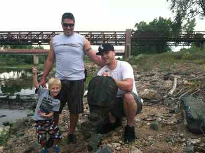 Brody's 1st snapper