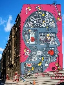 Fresque monumentale Street Art