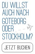 jetzt Flug nach Schweden buchen