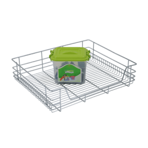 CUPBOARD BASKET (6″ HEIGHT X 15″ WIDTH X 20″ DEPTH) STAINLESS STEEL