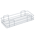 SINGLE BASKET PULL-OUT (4″ HEIGHT X 12″ WIDTH X 20″ DEPTH) STAINLESS STEEL