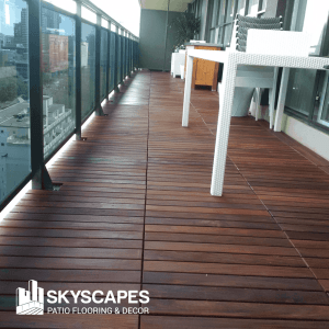 wood outdoor flooring maintenance