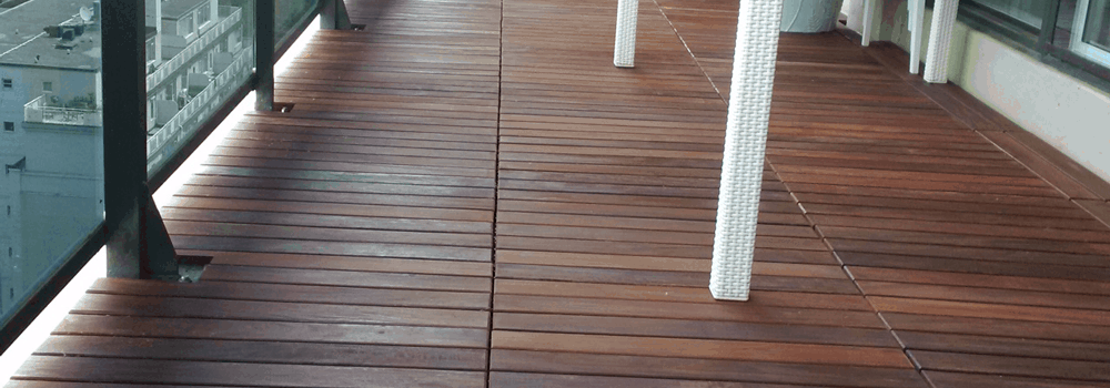 wood outdoor flooring maintenance