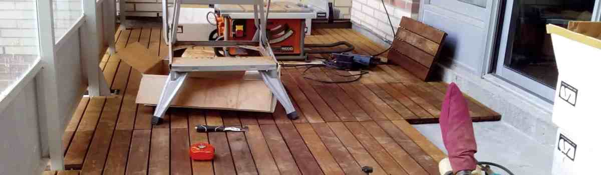 Professional Outdoor Flooring Installation services