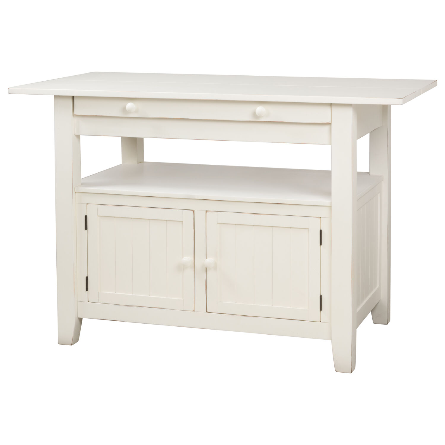 cantina ext counter table prairie white
