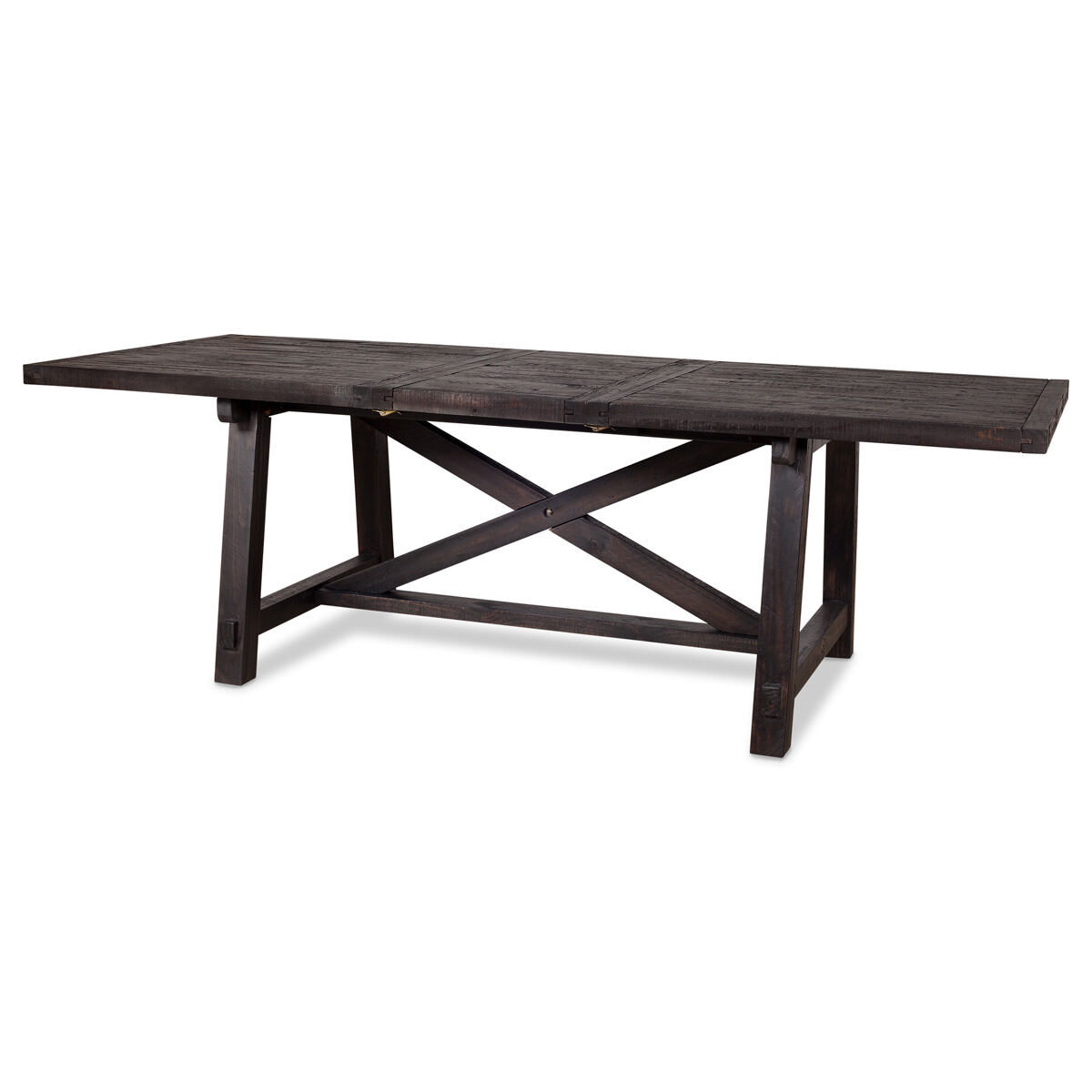 ironside ext dining table rect cafe