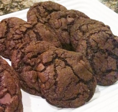 Easy, Delicious Cake Mix Double Chocolate Chip Cookies