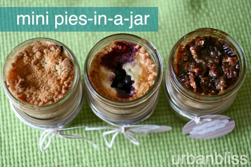 mini pies in a jar recipes