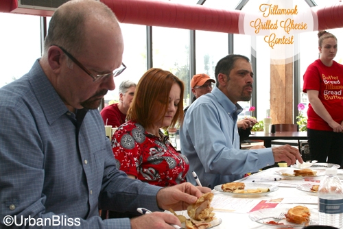 Tillamook Grilled Cheese Contest - Judges -2