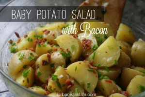 Baby Potato Salad with Bacon Recipe