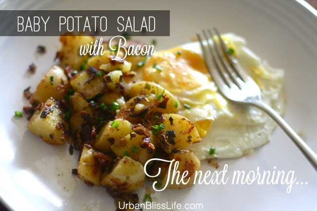 Baby Potato Salad with Bacon 02