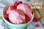 raspberry sherbet recipe