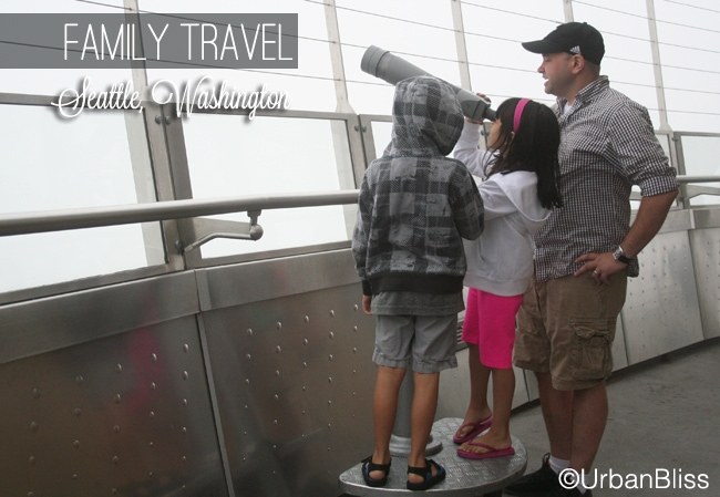 Family Travel Seattle - Space Needle 02