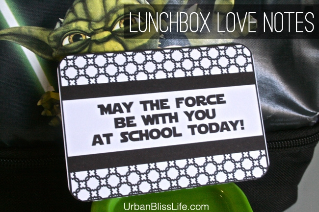 Lunchbox Love Note Printable by Urban Bliss