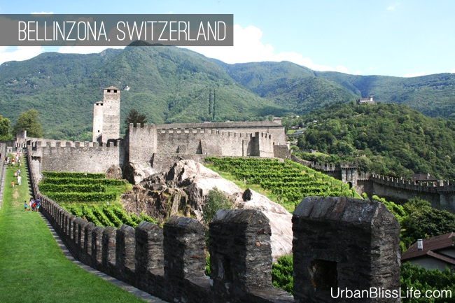 [Travel Bliss] Castles of Bellinzona, Switzerland