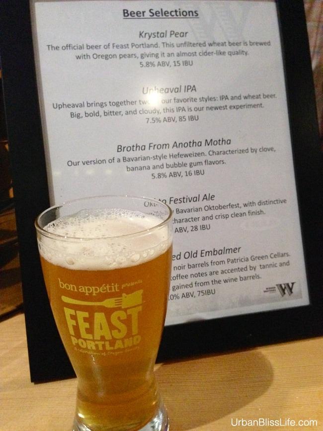 Feast Portland 2013 - Widmer Brewing Krystal Pear