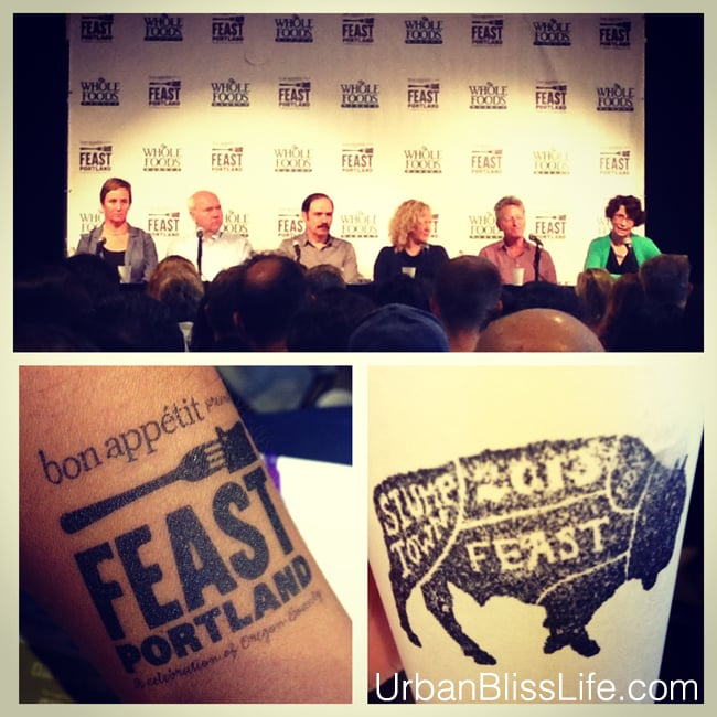 [Food Bliss] Feast Portland, Part Three: The Speaker Series That Moved Me Into Motion