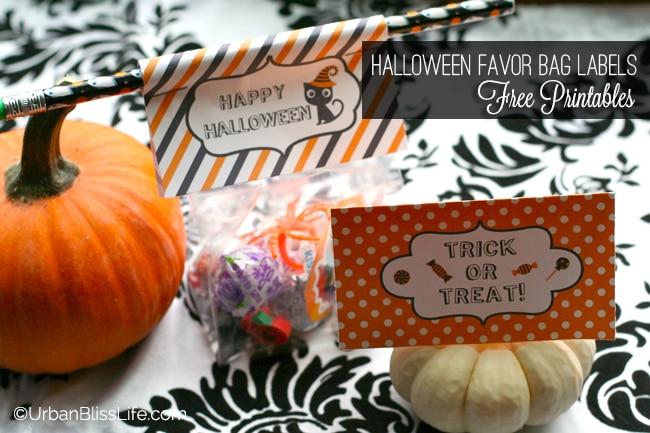 Halloween Favor Bag Labels 03