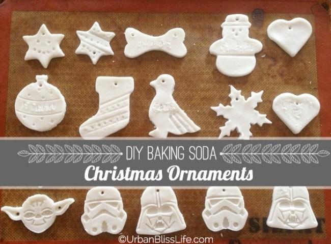 Baking Soda Christmas Ornaments - Main Image - DIY Bliss] Baking Soda Christmas Ornaments - Urban Bliss Life