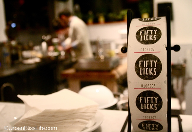 Fifty Licks - Stickers