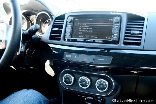 Mitsubishi Lancer - dashboard