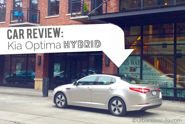 car review kia optima hybrid urban bliss life. Black Bedroom Furniture Sets. Home Design Ideas