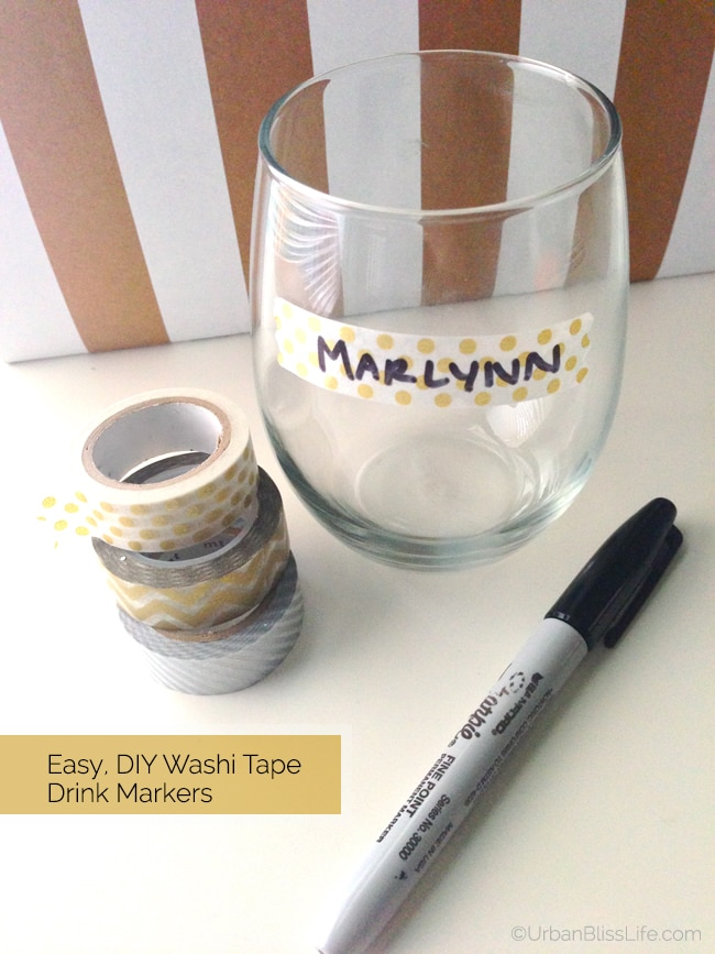[Make It Monday] Easy DIY Drink Markers