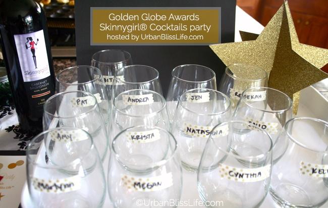 Golden Globes Skinnygirl party - glasses