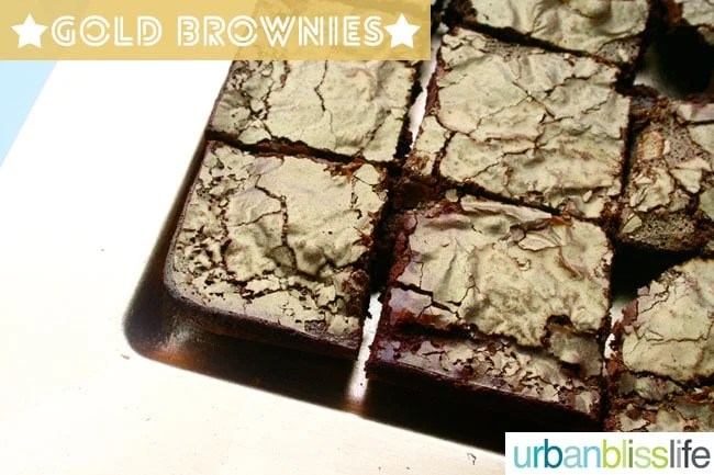 Gold Brownies