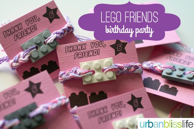 LEGO Friends Birthday Party