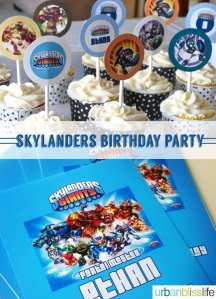 Skylanders Birthday Party