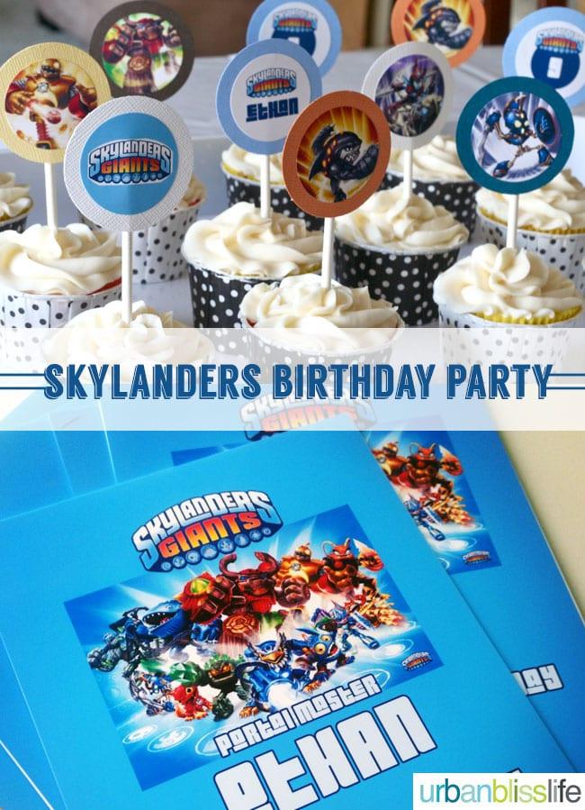 [Party Bliss] Skylanders Giants Birthday Party