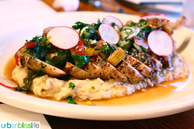 Acadia cajun restaurant Portland, Oregon pork