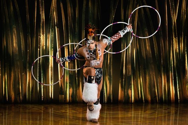 Cirque du Soleil Totem Hoope Dancer