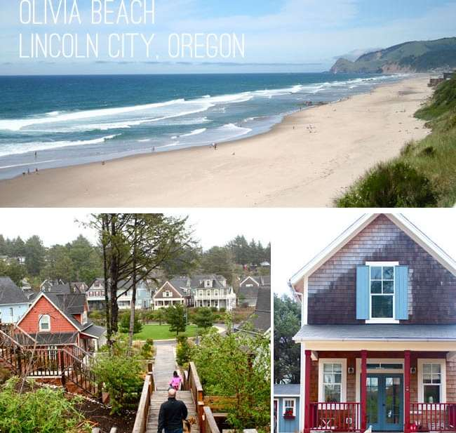 Olivia Beach Cottages, Lincoln City, Oregon